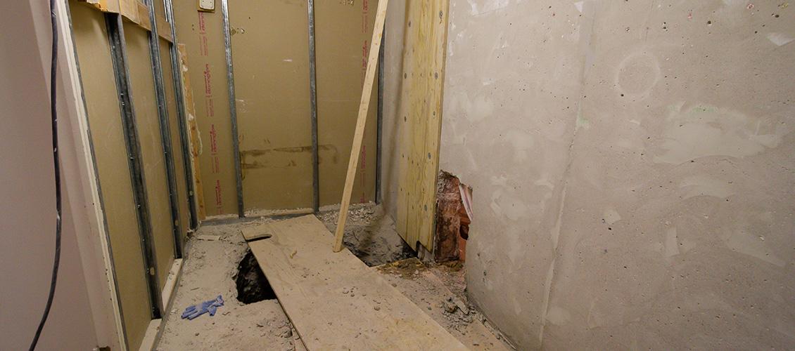 Brf Snickaren 22 - Badrum under stambytet
